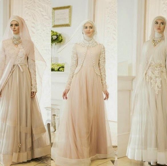 Model Baju Kebaya Gamis Pesta Brokat