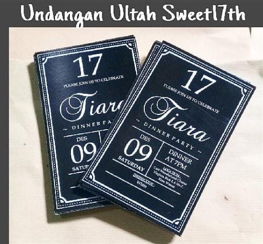 undangan ultah17th