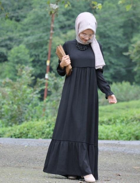 Model Baju Gamis Lebaran
