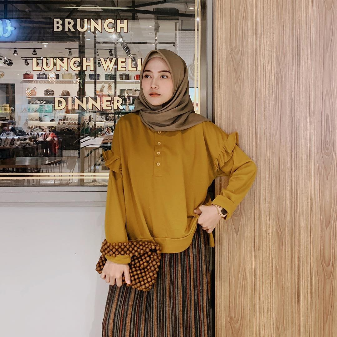 Model Baju Lebaran 2019 casual