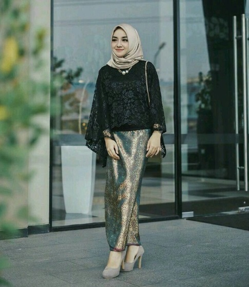 Model Kebaya Hijab Modis