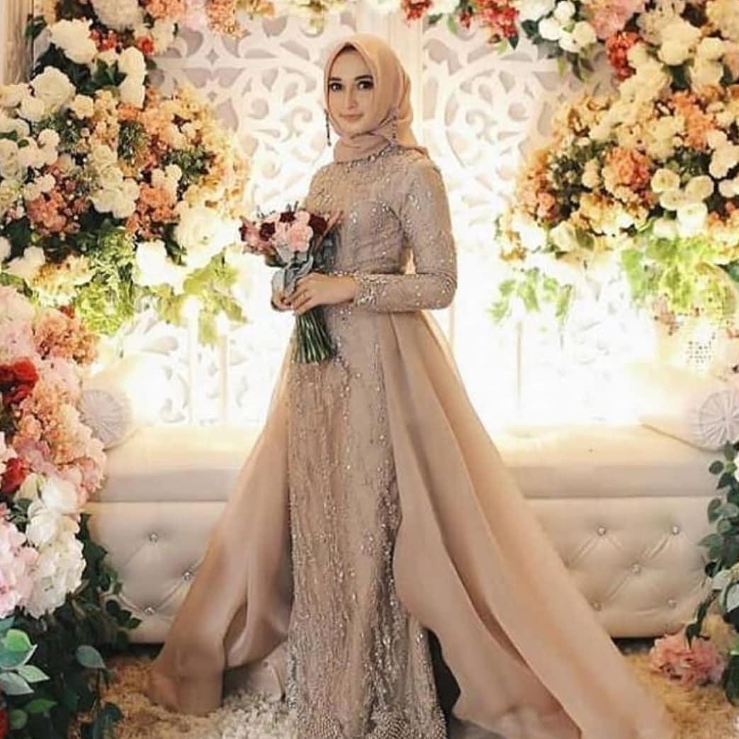 Model kebaya modern hijab pengiring pengantin