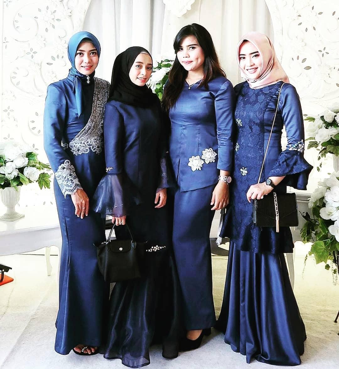 Model kebaya modern hijab syar'i