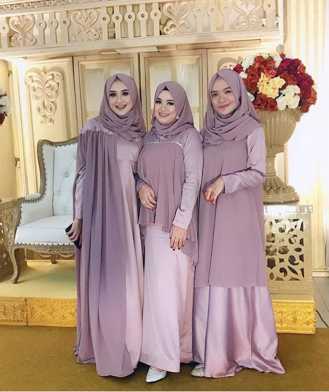 Setelan Model kebaya modern hijab
