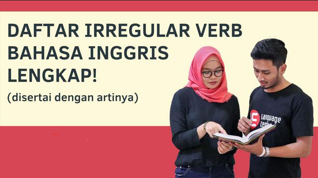 Daftar Irregular Verbs