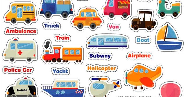 Nama Alat Transportasi Kendaraan dalam Bahasa Inggris