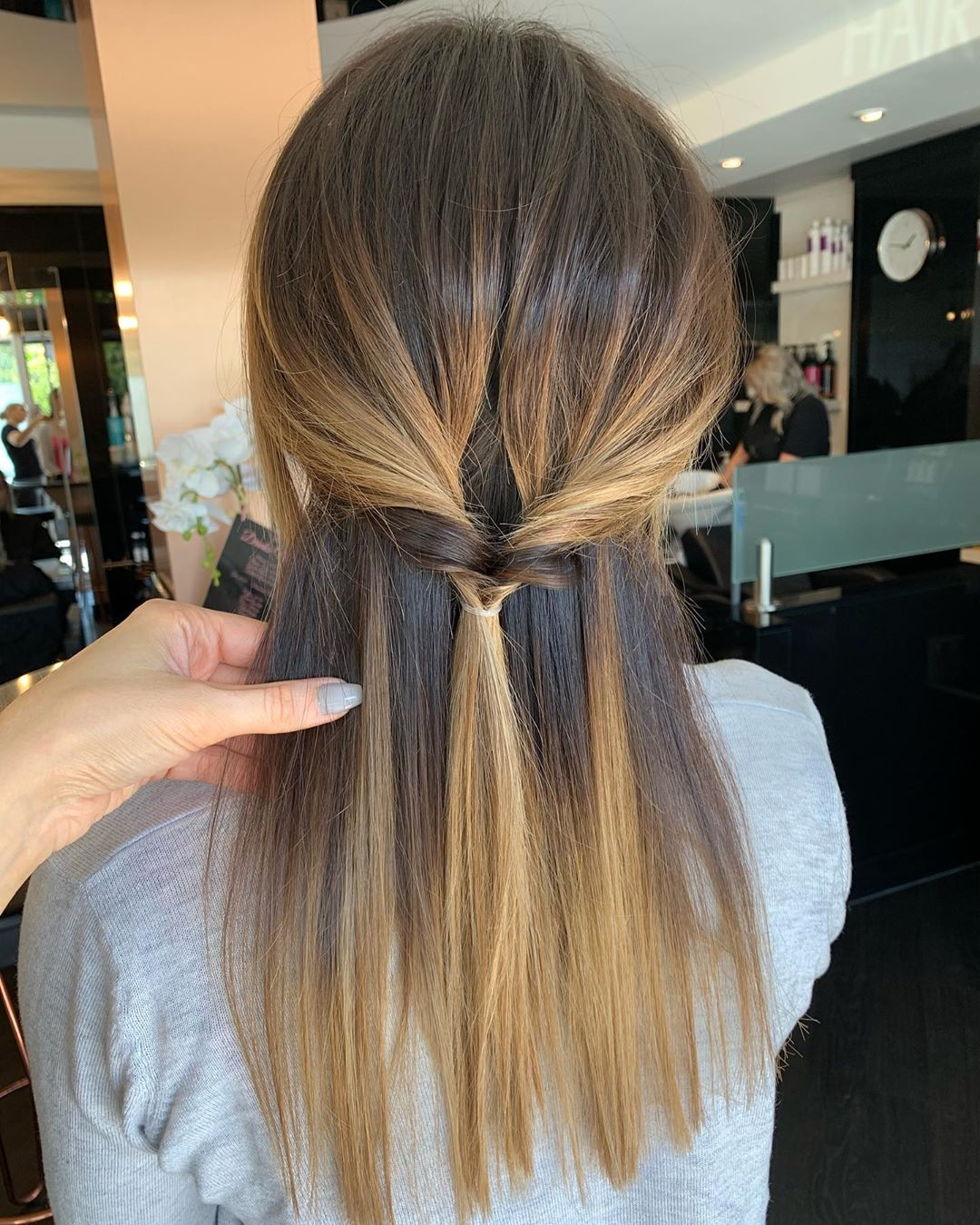 mid length hair for over 50s