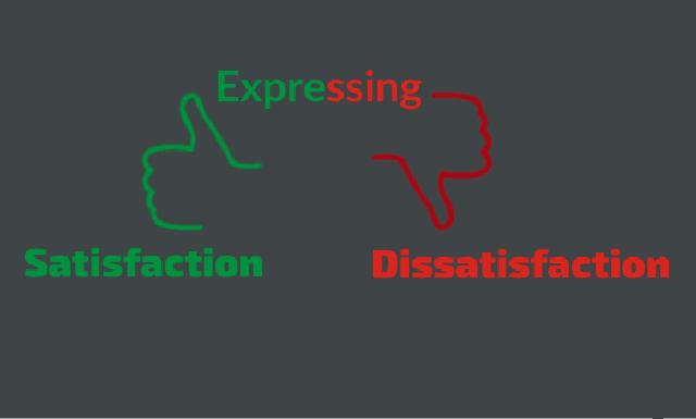 Contoh Dialog Pendek Expressing Satisfaction and Dissatisfaction