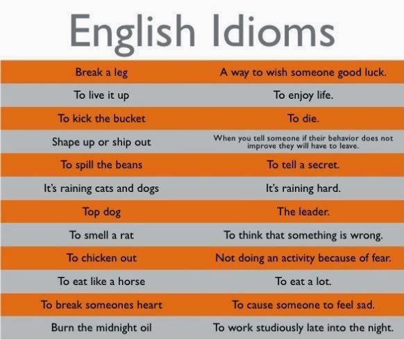 Contoh Idiom Bahasa Inggris Tentang Cinta