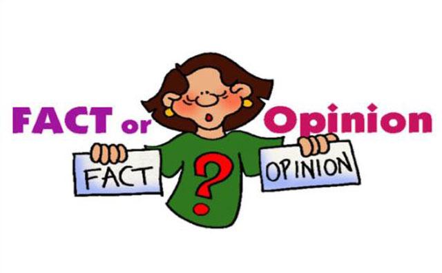 Contoh Kalimat Fakta dan Opini Bahasa Inggris
