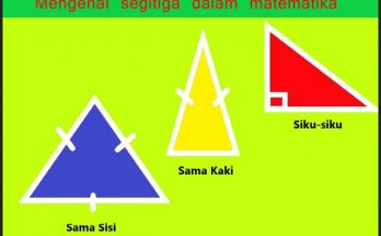Mengenal segitiga dalam matematika