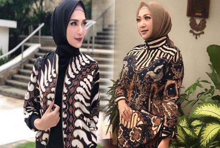 Model Baju Batik Kerja Wanita Kantoran