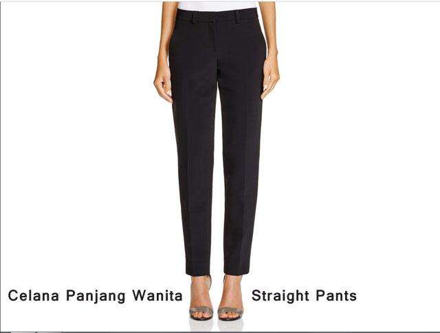 Celana Panjang Wanita : Straight Pants