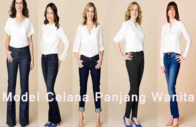 Model Celana Panjang Wanita
